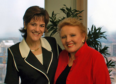 Paula Galvão and Isabel Jones